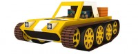 Gubee Crawler - Lika Adventure Paper Craft