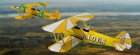 Stearman Biplane N63495 and Navy Papercraft
