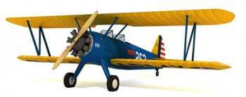 Boeing PT-17 Stearman - Army Trainer Plane Paper Model