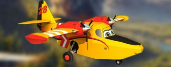Dipper - Disney Planes Fire and Rescue Paper Craft