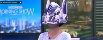 Optimus Prime Wearable Helmet