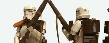Sandtrooper 1:6 Star Wars Paper Model