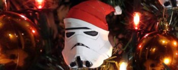 Stormtrooper Helmet with Santa Hat in 1:6 Scale