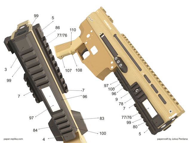 how to assembly - upper receiver