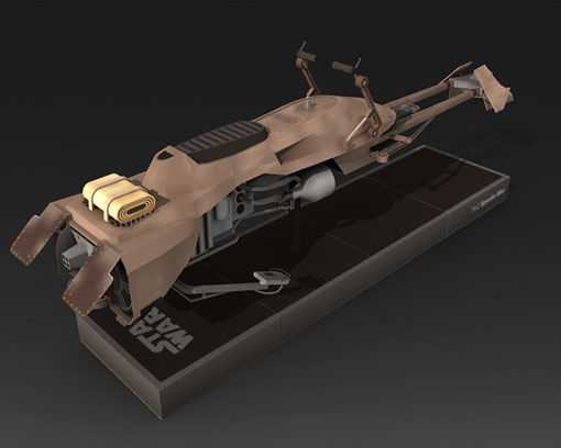 74-Z Speeder Bike - Star Wars