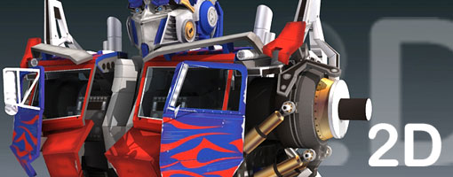 Optimus Prime Part 2D