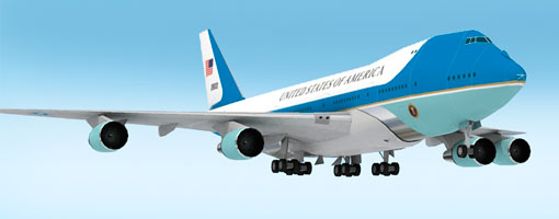 Boeing VC25 Air Force One Paper Model