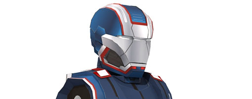 Iron Patriot Papercraft